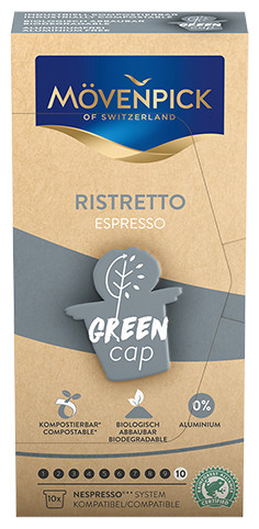 Movenpick coffee capsules Ristretto