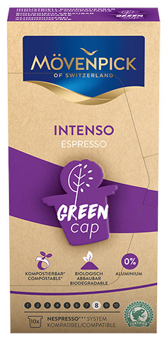 Movenpick coffee capsules Intenso